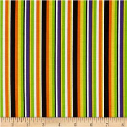 Happy Haunting Stripes Multi
