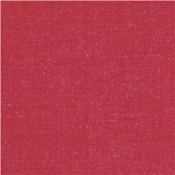 Kaufman Cotton Rayon Chambray Twill Red Fabric