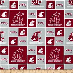 Collegiate Cotton Broadcloth Washington State University