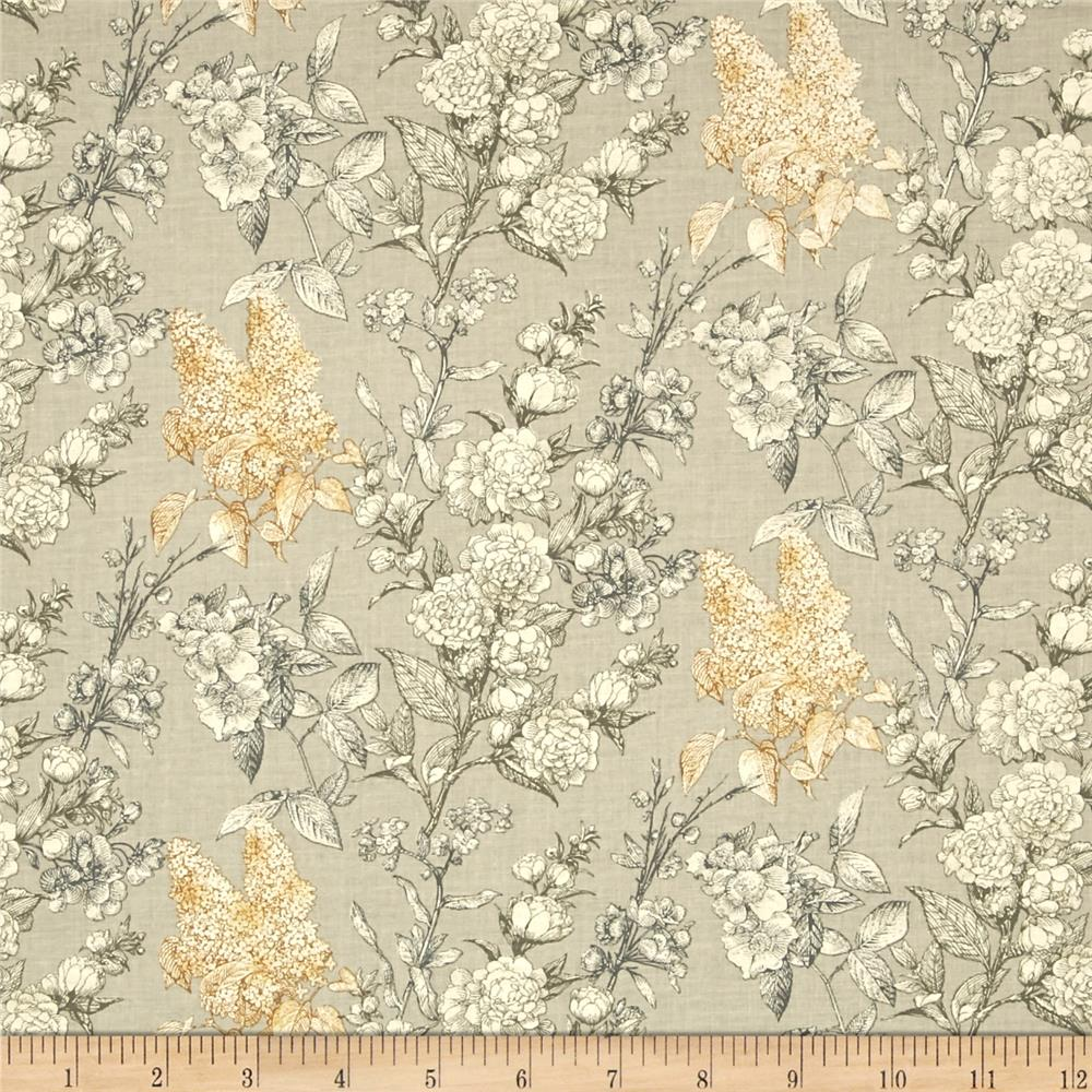 Sew Vintage Etched Flower Garden Nickel