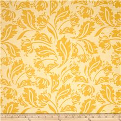 Riley Blake Floribella Damask Yellow