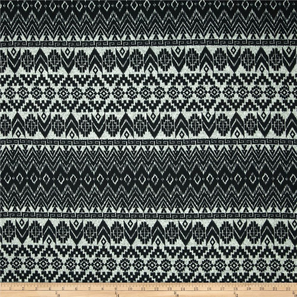 Sweater Knit Aztec Black/Cool Grey