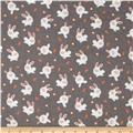 Michael Miller Baby Flannel Bunny Love Truf