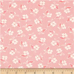 Moda Fresh Air Two Toned Floral Pink Fabric