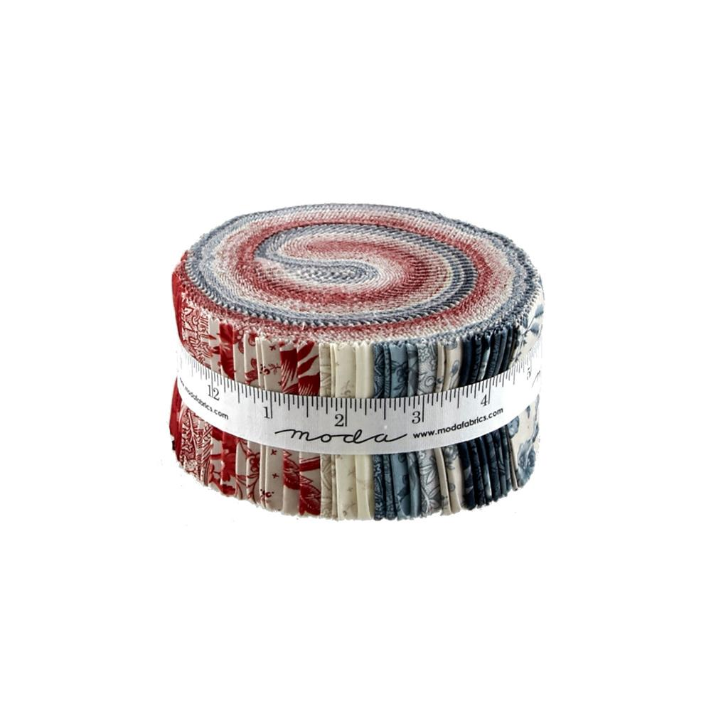 Moda Snowberry Prints Jelly Roll