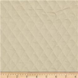 Double Sided Quilted Muslin Natural