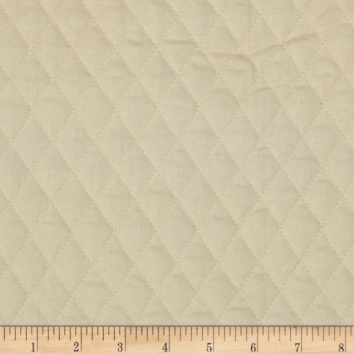 Double Sided Quilted Muslin Natural Fabric