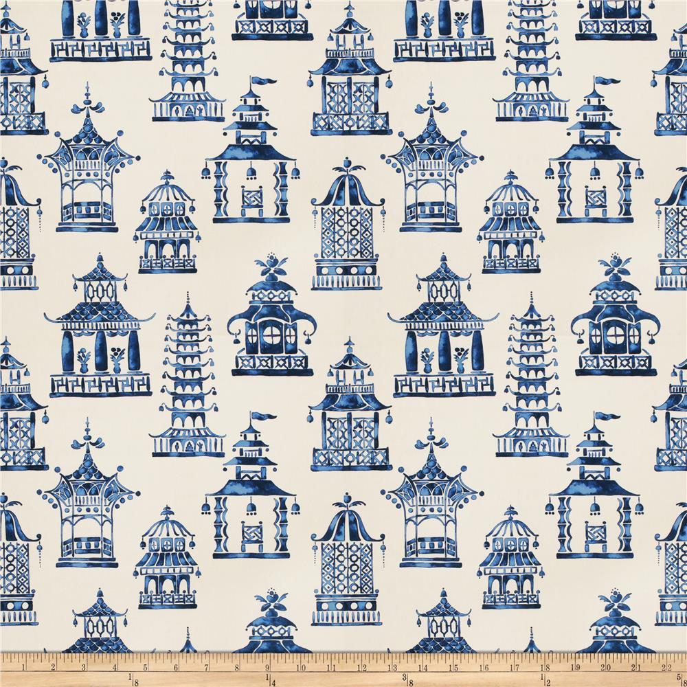 Fabricut Bezique Pagoda Royal Blue