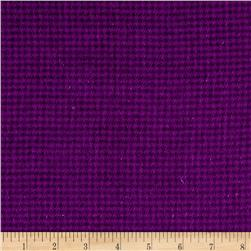 Local Color Yarn Dyed Flannels Houndstooth Purple