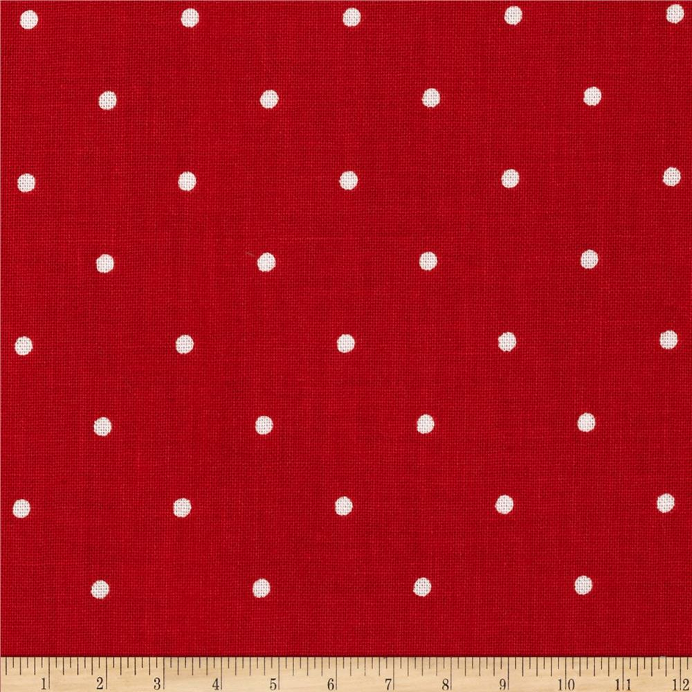 Riley Blake Primrose Garden Dots Red
