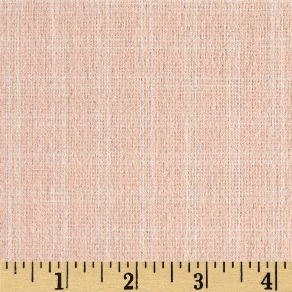 Flannel Plaids & Stripes Pink Fabric