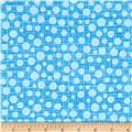 Michael Miller Hash Dot Light Blue
