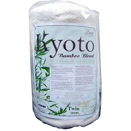 Kyoto Bamboo Blend Batting (72'' x 90'') Twin