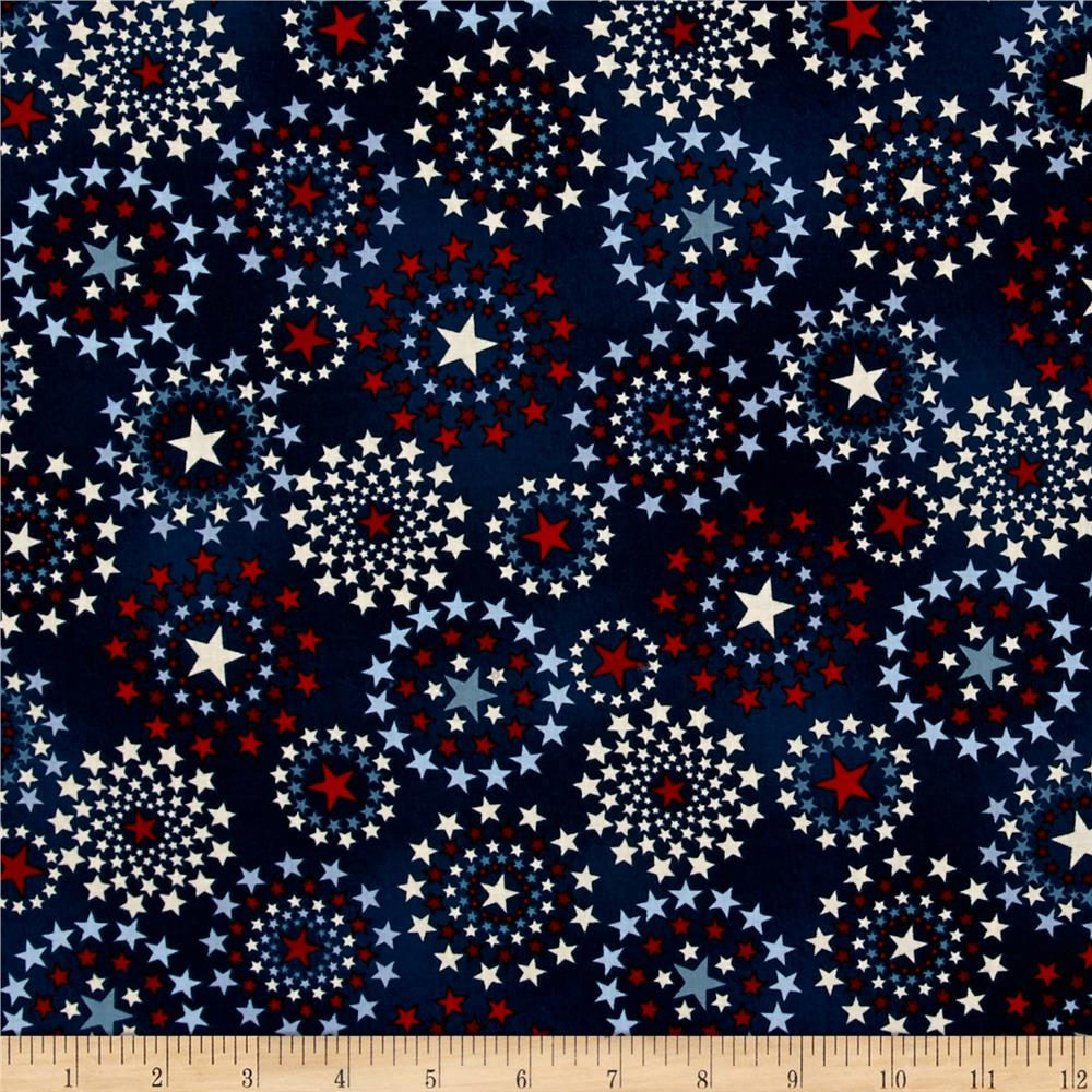 Oh My Stars American Classic Star Medallion Navy