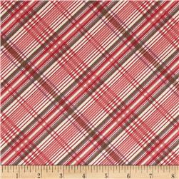 Edith Plaid Cranberry