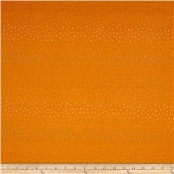 Debbie Mumm Cute Critters Multi Dot Orange