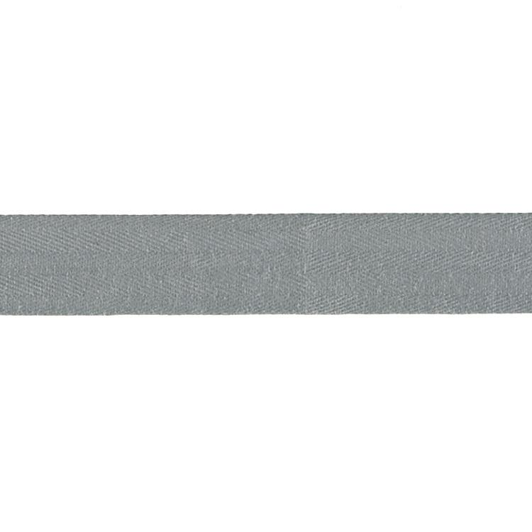 Cotton Twill Tape Roll 1'' Gray