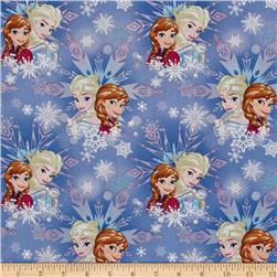 Disney Frozen Sisters Winter Magic Snowflake Blue
