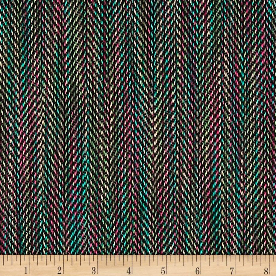 Designer Herringbone Suiting Rainbow