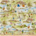 Kaufman Storybook Meadow Toille Vintage