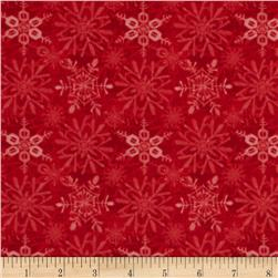 Snow Fun Snowflake Red