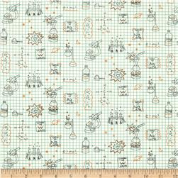 Birch Organic Robotic Graph Paper Ivory