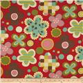 Moda Avant Garden Cheery Blossoms Cherry