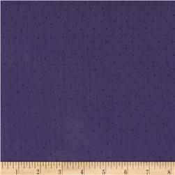 Chiffon Print Pin Dots Purple/Black