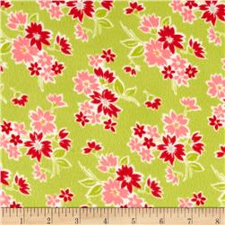Moda Miss Kate Flannel Spring Apple
