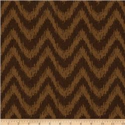 Happy Jungle Zig Zag Chevron Brown