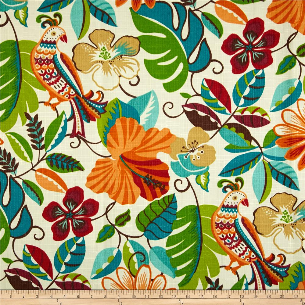 Bon Richloom Indoor/Outdoor Lensing Jungle   Discount Designer Fabric   Fabric .com