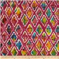 Indian Batiks Diamond Fuchsia