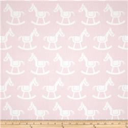Premier Prints Rocking Horse Twill Bella/White