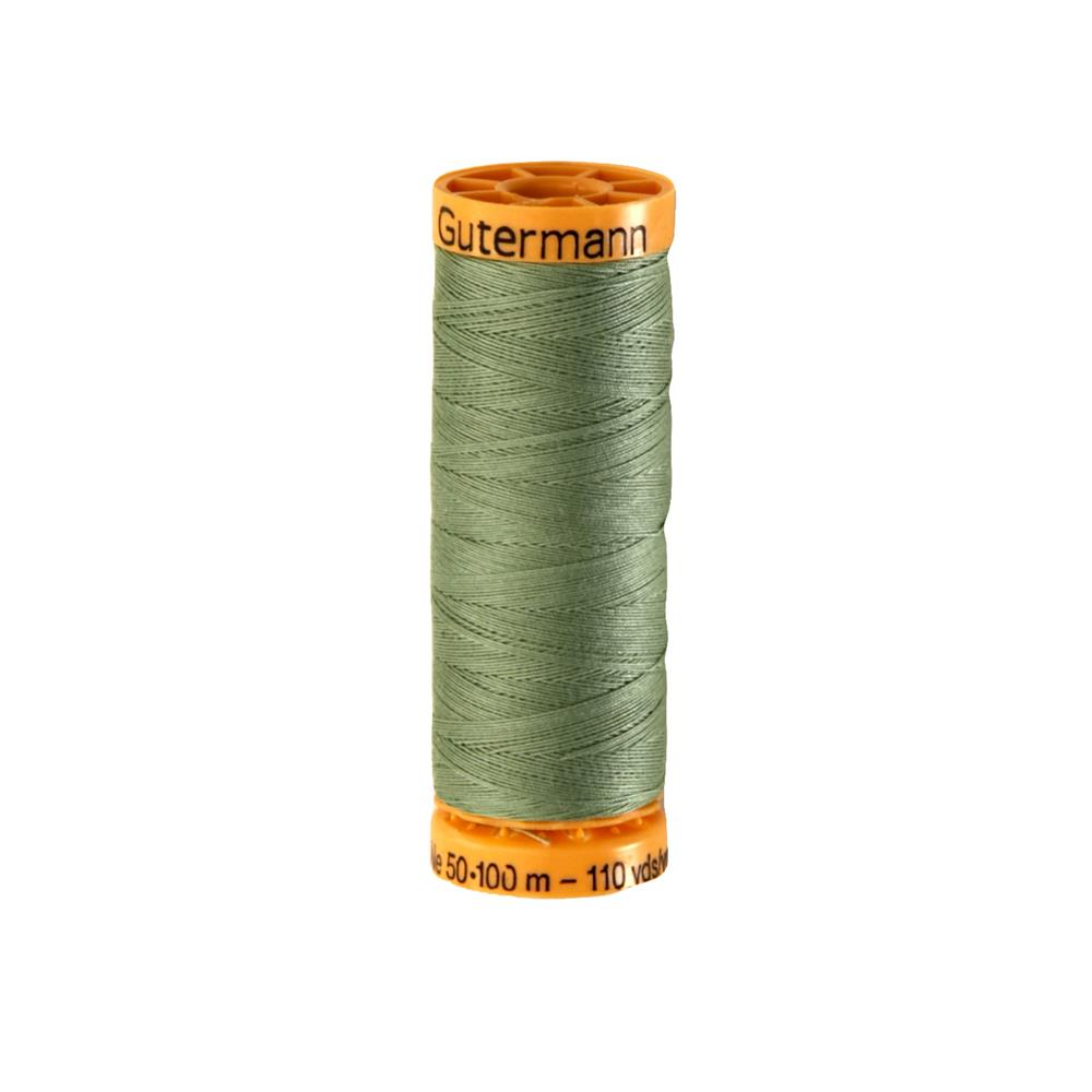 Gutermann Natural Cotton Thread 100m/109yds Light Moss Green