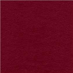 The Season Wool Collection Wool Melton Claret