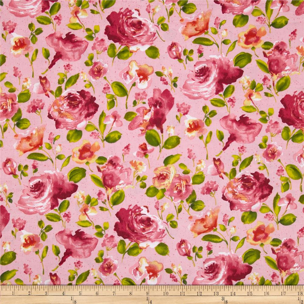 Ambrosia Toss Floral Rose