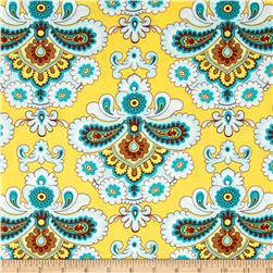 Amy Butler Belle French Wallpaper Mustard