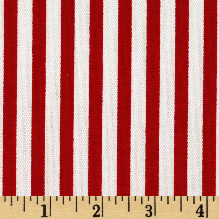 Premier Prints Carrie Stripe Lipstick Fabric