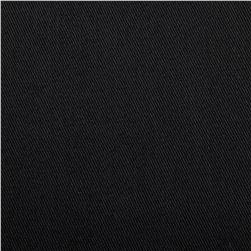 Polyester/Cotton Twill Black