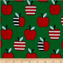 Cloud 9 Organic Corduroy Small World An Apple A Day