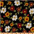 Spice Cats Flowers Black