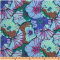 Kaffe Fassett Lotus Leaf Blue