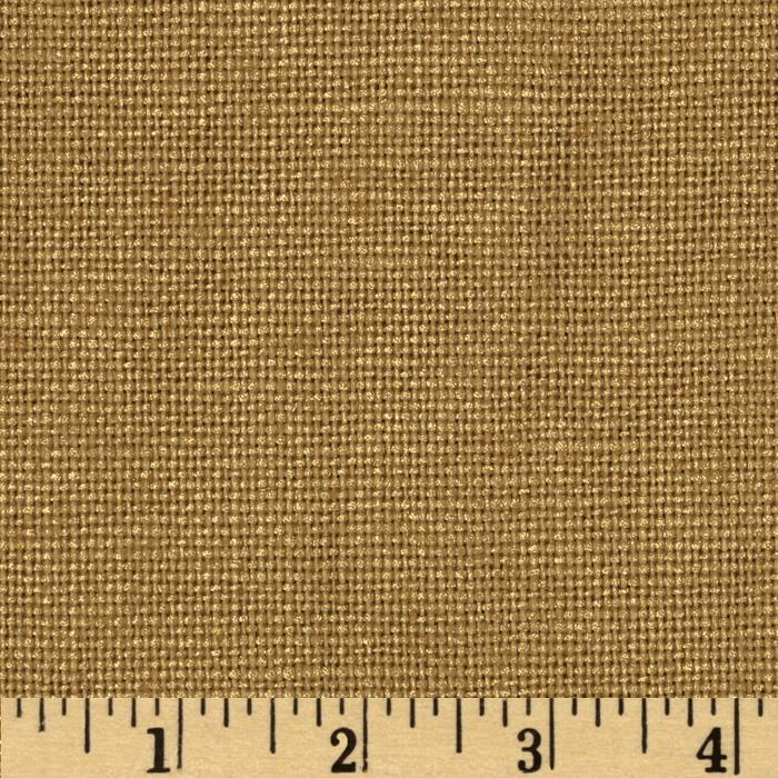 Jaclyn Smith 02133 Metallic Solid Blend Wheat