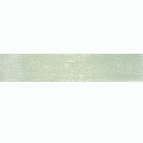 1'' Sheer Organza Ribbon Seafoam
