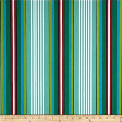 Richloom Solar Outdoor Walden Stripe Caribe
