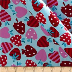 Robert Kaufman Silky Satin Merry Berry Tiffany/Red