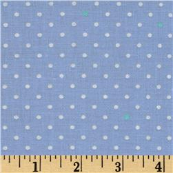 Michael Miller Cynthia Rowley Oh Baby Pin Dot Blue