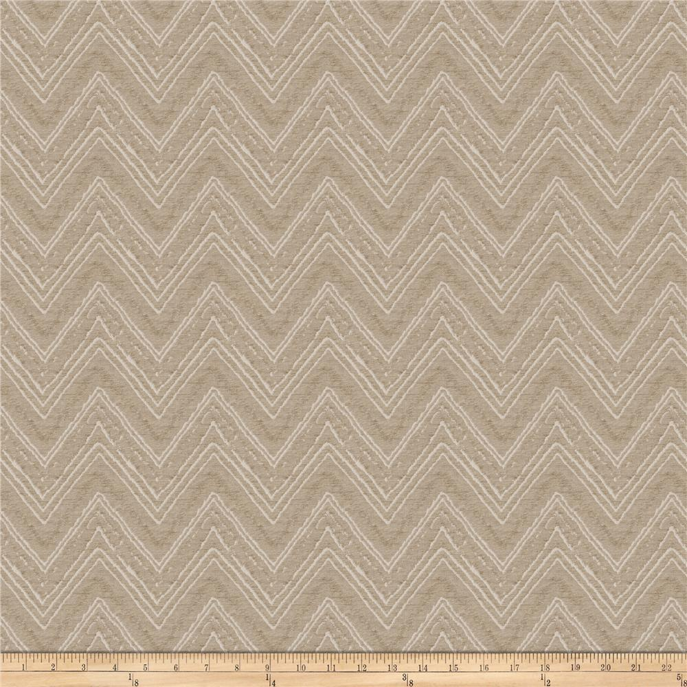 Fabricut Aquinas Metallic Faux Silk Shimmering Taupe