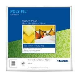 Fairfield Soft Touch Supreme Poly-Fil Pillow 18'' Square