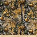 Realtree Flannel Forest Animals Multi